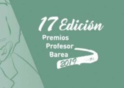 17ª Edición de los premios profesor BAREA 2019